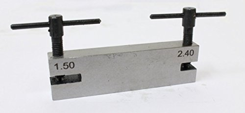 2-3/4 X 3/4 Inch Double Belt Hole Maker For Leather And Plastic Belts (ToolUSA: TJ-BELT-HOLE) ()