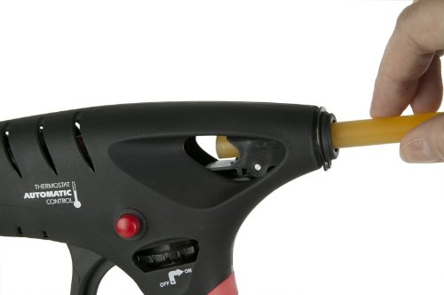 Puissance adh/ésifs 600 12-t195-br1-tec Tec gaz Aliment/é Pistolet /à colle 12/mm Noir 110/V