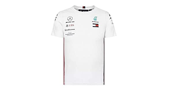Mercedes AMG Petronas Camiseta Motorsport Team F1 Driver: Amazon ...