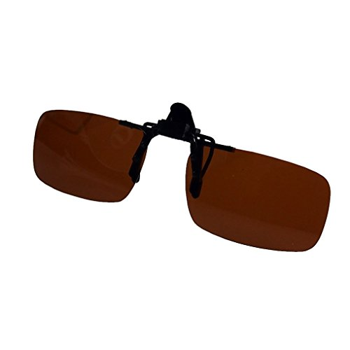 686714debf35 80%OFF M-Egal Classic Eyewear Polarized Clip On Flip Up Driving Sunglasses  Eyes