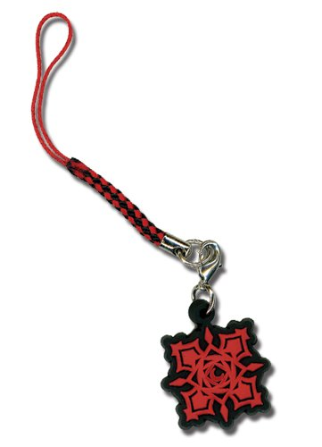 Vampire Knight Cross PVC Mobile Phone Charm (Vampire Knight Phone Charm)