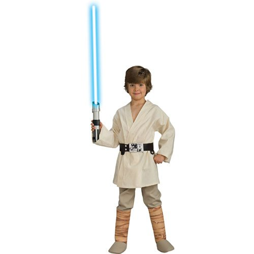 Morris Costumes Luke Skywalker Dlx Child Mediu