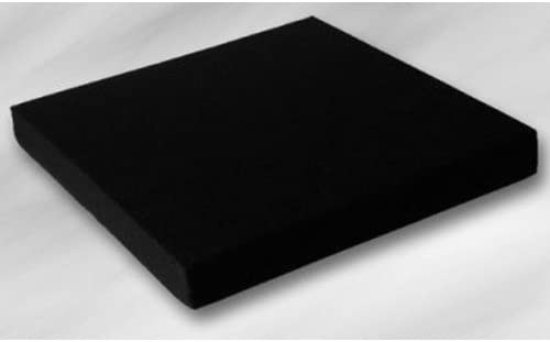 EcoKiss Sitzkissen schwarz 42x43x5cm(Werkmeister), Sitzkissen