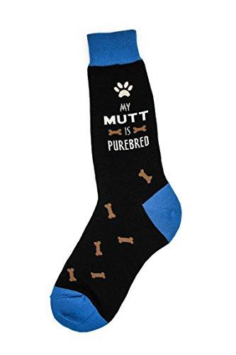 Foot Traffic, Dog Men's Socks, My Mutt