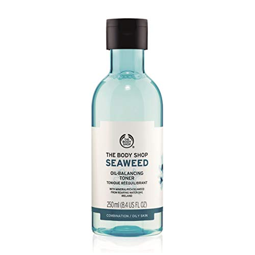The Body Shop Seaweed Oil-Balancing Toner, 100% Vegan Facial Toner, 8.4 Fl. Oz.