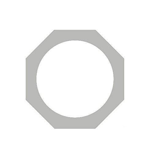 OPTIMA Polished Chrome PAR38 Gel Frame