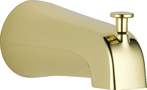 Delta Faucet U1075-PB-PK Universal Showering Components Diverter Tub Spout, Polished - Faucet Brass Bath Polished