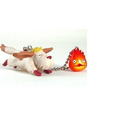 Howl's Moving Castle Heen PVC Keychain