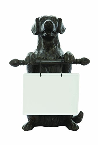 Creative Co-Op Dog Holding Message Board