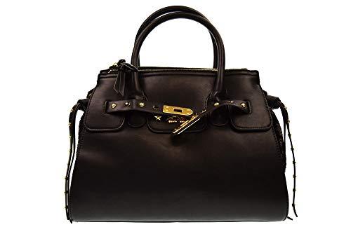 394102A 810 BLACK Nero PON mano borsa PON a donna SECRET vCf6wpHxqW