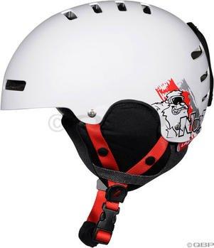 Lazer Noiz Youth Snow Helmet: White; One Size