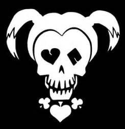 4d79d76af89a99 Image Unavailable. Image not available for. Color  Chase Grace Studio Harley  Quinn Suicide Squad Inspired Vinyl Decal Sticker