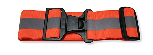 360 USA Reflective Belt Neon Orange