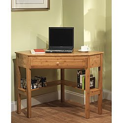 Simple Living Bamboo Corner Desk by Simple Living Products