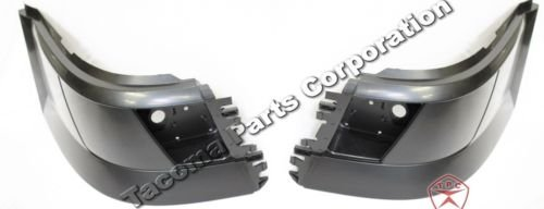 Volvo VNL Bumper Corner Extension - w/Foglight Hole - SET - (2004-16)