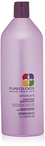 PUREOLOGY Hydrate Conditioner, 33.8 Fl Oz - And Skin Hair Care Aqua