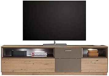 Avantiti Trendstore Fasano - Mueble para televisor (Madera), Color Roble y Lava, Lacado Mate Medidas: 197 x 54 x 41 cm.: Amazon.es: Electrónica