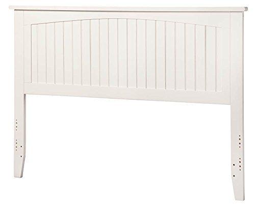 King Headboard in White by Atlantic Furniture