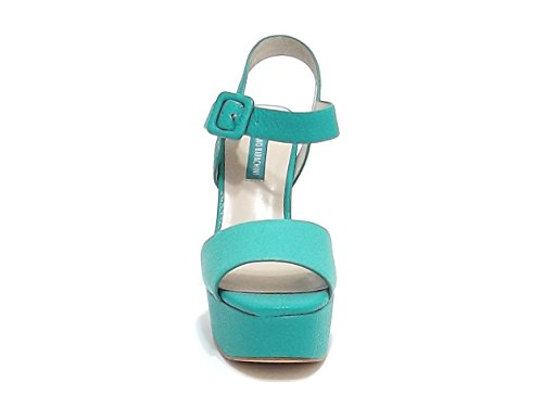 Barachini - Sandalias de vestir para mujer verde Verde