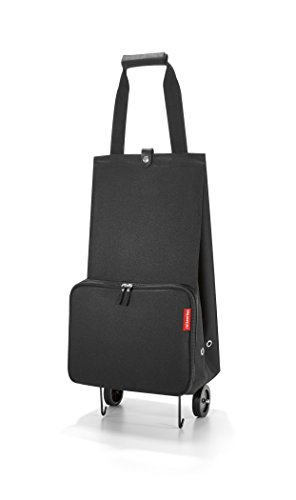 reisenthel Foldable Trolley Bag, Packable Oversized Tote with Wheels, - Tote Rolling Collapsible Shopping