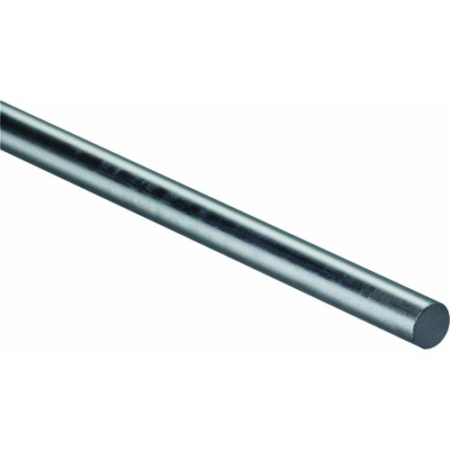 National Hardware N179-804 4005BC Smooth Rod Zinc plated, 1/2