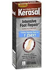 Kerasal One Step Exfoliating Moisturizer Foot Therapy - 1 oz, Pack of 6