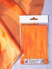 Seidentuch 90 x 90 cm (orange ponge05