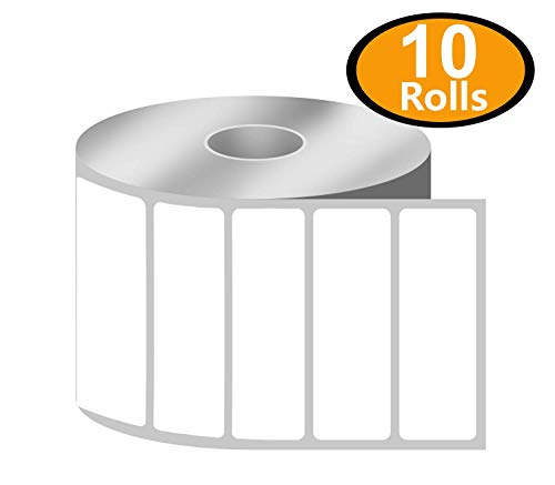 """BETCKEY - 3"""" x 1"""" UPC Barcode & Address Labels Compatible with Zebra & Rollo Label Printer,Premium Adhesive & Perforated[10 Rolls, 13750 Labels]"""