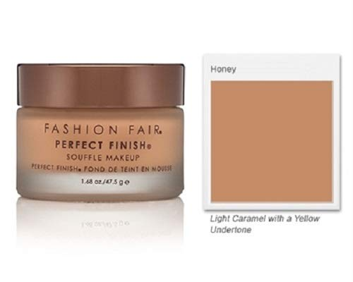 Fashion Fair Oil Free Perfect Finish Souffle Makeup – Honey
