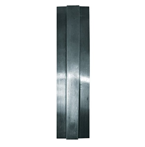 Stainless Steel Divider Bar with 400 Series Satin Finish - 6.5ft Long by CHG