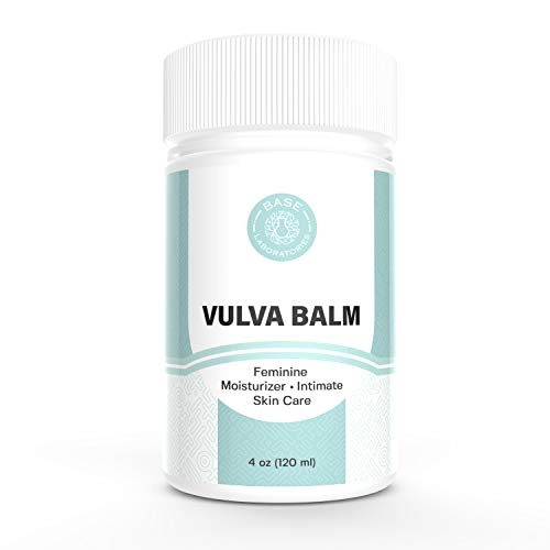 Base Laboratories Organic Vulva Balm I Soothing Moisturizer for Women I Topical Cream for Daily Vulva Care and Relief of…