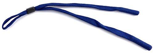 Brillen-Band Träger Band Brillen-Baender hochwertiges Brillenband Sport-Schnur Band extra breit mit Stopper - dunkel blau