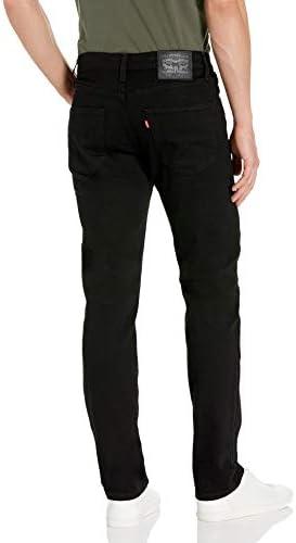 Levi's Men's 511 Slim Fit Jeans Stretch, Black 3D, 36W x 34L