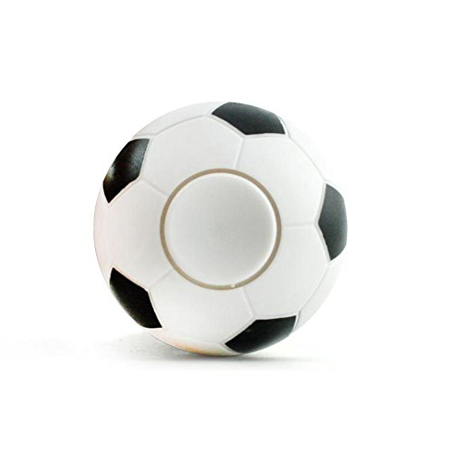 Enjoydeal Mini Ball Toy Spinning Tops Finger Soccer/BasketBall for Kid Adult, Football World Cup Decompression Tool Daily Life by Enjoydeal
