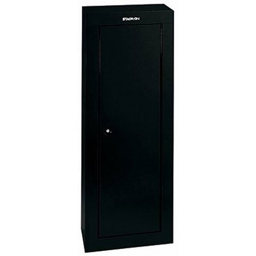 Stack-On GCB-908 8-Gun Steel Security Cabinet, Black