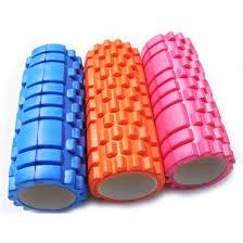 IRIS FR-05 Triggerpoint Grid Foam Roller (Multicolour) Foam Rollers at amazon