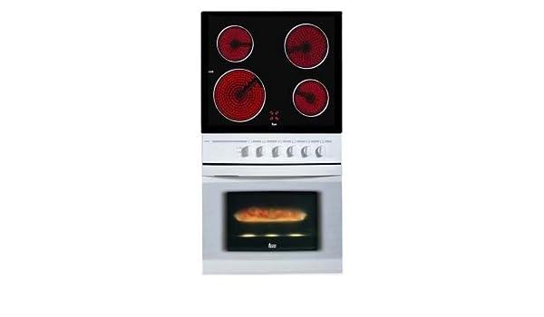 Teka Duetto 490 Blanco Horno eléctrico sets de electrodoméstico de ...