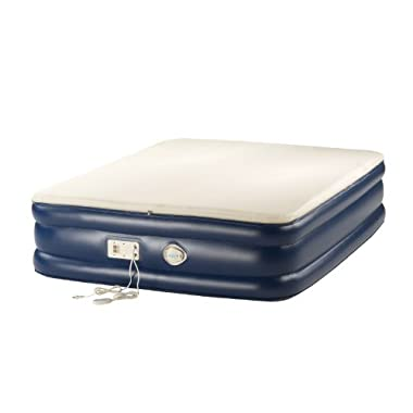 Coleman Aero Memory Foam Airbed with 120V BIP C001 Pump, Queen