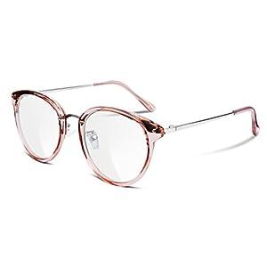 FEISEDY Clear Lens Glasses Frames Cozy Composite Frame Eyewear Women Men B2260