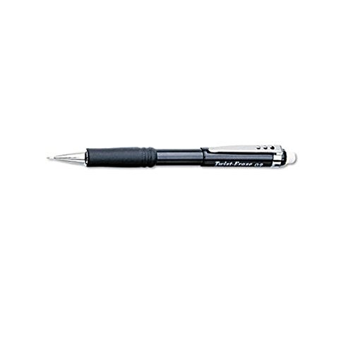 Pentel Twist-Erase III Automatic Pencil, 0.9 mm, Black (QE519A) (Twist Erase Automatic Pentel Pencils)