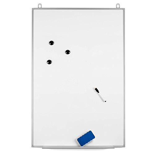 OfficePro Ultra-Slim, 36 x 48 Inch Lightweight Magnetic Dry Erase Board & Accessories (Includes Whiteboard Pen & Pen Tray, 3 x Magnets & Eraser) by OfficePro (Image #4)