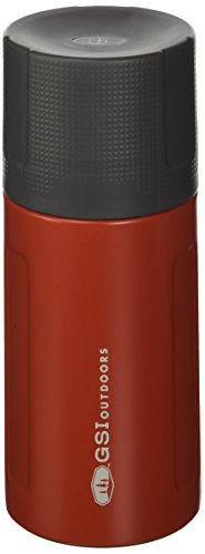 GSI Outdoors Glacier Stainless 0.5 L Vacuum Bottle, Red