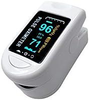 DOUBLJU Oxygen Monitor Portable Fingertip Saturation Monitors LED Display Home Use