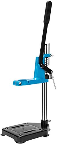 JINPENRAN Table Top Mountable Power Drill Press Rotary Tool Holder Working Station,Workbench Pillar Pedestal Clamp for Cordless,Singlelayer
