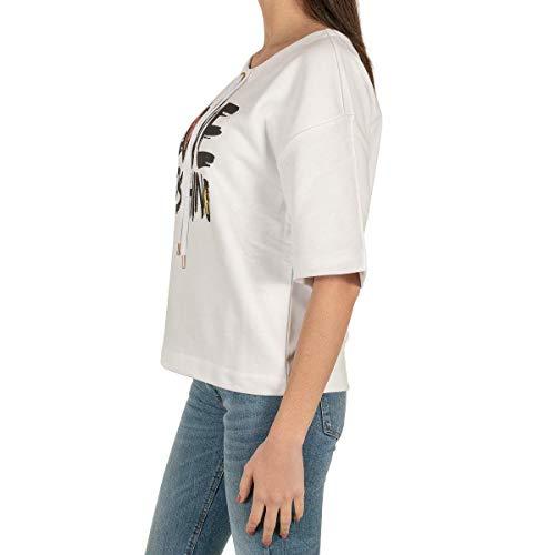 Moschino W633801m3843 Fantasia Barchetta Manica Bianca Felpa Love Corta Donna zUqddP