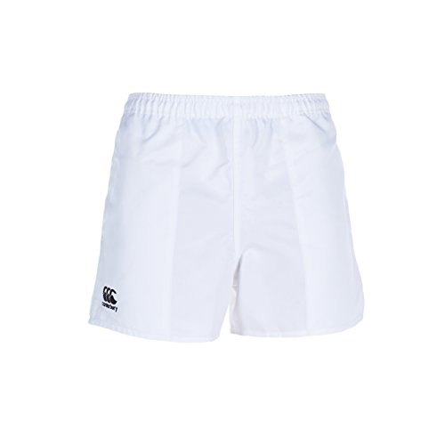 White Rugby Shorts - Canterbury Mens Professional Shorts, White, X-Large