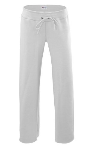 Soffe Big Girls' Rugby Pant, White, Large