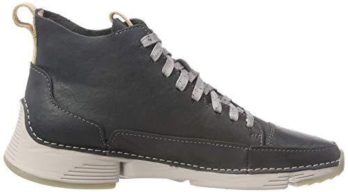 Alto a Donna Tri Free Collo Sneaker Lea Grey Clarks Grigio Dark FtxYqwXw