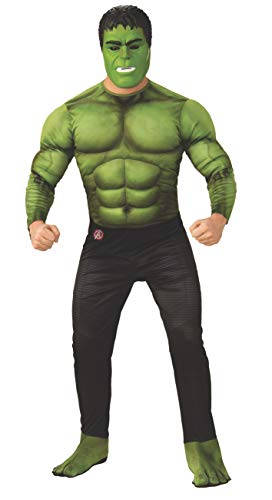 Rubie's Marvel Avengers: Endgame Deluxe Hulk Adult Costume and Mask, As Shown, Extra-Large]()