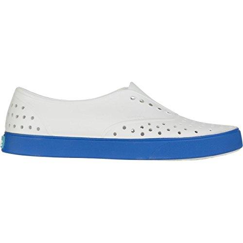 Guscio Sneaker Da Uomo Mugnaio Moda Bianco / Blu Barracuda